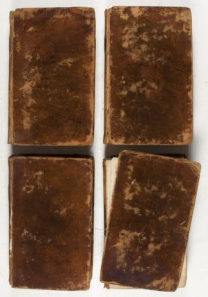 The Works of Flavius Josephus, the Learned and Authentic Jewish Historian and Celebrated Warrior. In four volumes, to which are added Three Dissertations Concerning Jesus Christ, John the Baptist, James the Just, God's Command to Abraham, &c. With an index to the whole and copperplates. (4 Volume Set)