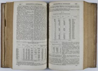 Universal Gazetteer of the World, a Dictionary, Geographical, Historical and Statistical, of the various Kingdoms, States, Provinces, Cities, Towns, Forts, Harbors, Rivers, Lakes, Seas, Mountains &c, in the World. Articles relating to the United States have been very largely extended, embracing every county, with the elements of their population arranged in tables from the census of 1840, Also the census of 1850.