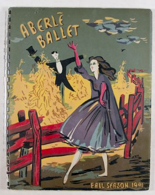 Aberlé presents Ballet of Color: Spring & Summer 1941, January-July 1941, 102nd triumphant American Season, Nylon and Silk Stockings; Fall & Winter 1941, July-December 1941. 103rd triumphant American Season, Nylon and Silk Stockings. 2-vol. set (Complete)