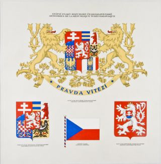 Atlas Republiky Ceskoslovenske; Atlas de la Republique Tchecoslovaque; Atlas der Tschechoslovakischen Republik. Jaroslav Pantoflicek, Vaclav Laska.