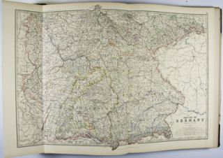 The Royal Atlas of Modern Geography exhibiting in a series of entirely original and authentic maps, the present condition of geographical discovery and research in the several countries, empires and the world