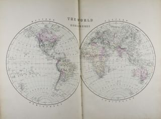 Bradley's Atlas of the World for Commercial and Library Reference. n/a