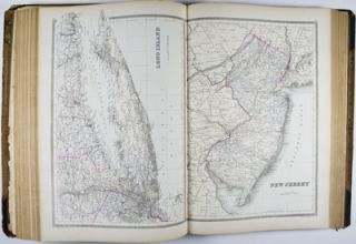 Bradley's Atlas of the World for Commercial and Library Reference