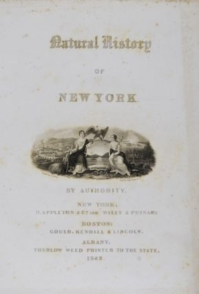 Natural History of New York: Mineralogy of New-York. Lewis C. Beck