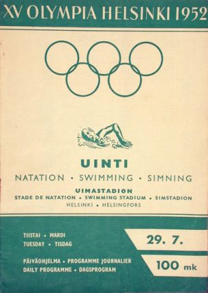 XV Olympia Helsinki 1952 (5 issues, COMPLETE). n/a.