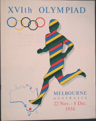 XVIth Olympiad Melbourne Australia 22 Nov. - 8 Dec., 1956 (Visitors guide). n/a