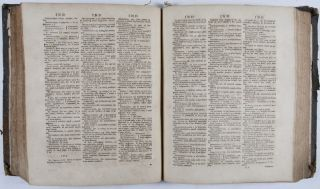 Dizionario Inglese ed Italiano. A Dictionary English and Italian containing all the words of the vocabulary della Crusca and several hundred more taken from the most approved authors; With proverbs and familiar phrases. The second part containing the English before the Italian