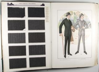 J. L. Taylor & Co. New York - Chicago. Fall & Winter 1916-17 (Catalog of cloth samples)