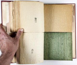Fine Imported Japanese Wallpapers. Sample book #15