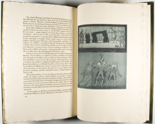 Signor Formica: Eine Novelle [WITH ORIGINAL DRAWING SIGNED BY ILLUSTRATOR]