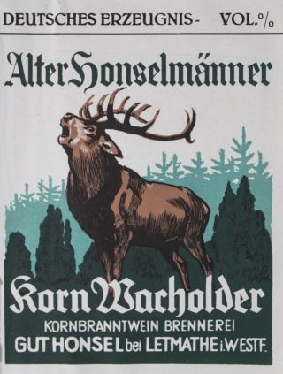 Album of Original German Wine and Liquor Labels. n/a.
