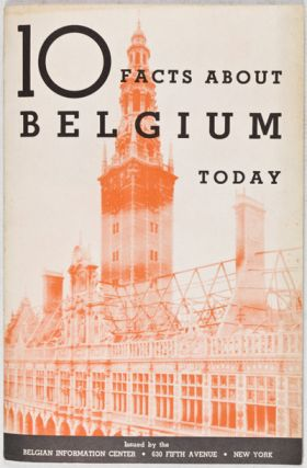 10 Facts about Belgium Today. Belgian Information Center