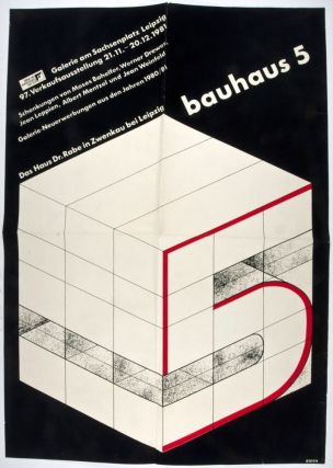 Two Original Bauhaus Exhibition Posters (5 & 6). n/a