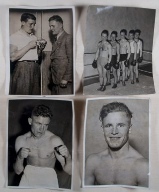 30 Vintage Photographs of Boxers