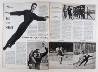 Sport-Illustrierte (Olympia in Squaw Valley 1960 & Olympia in Rome 1960, Sonderausgabe). Ernst...