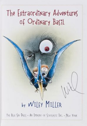 The Extraordinary Adventures of Ordinary Basil [SIGNED BY THE AUTHOR]