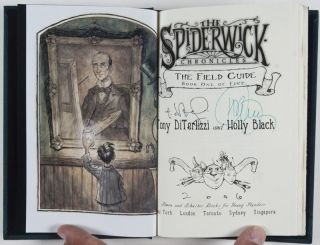 The Spiderwick Chronicles Books 1-5 (5 vols. Complete) [SIGNED BY BOTH AUTHOR AND ILLUSTRATOR, WITH AN ORIGINAL DRAWING]