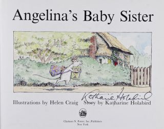 Angelina's Baby Sister [SIGNED BY AUTHOR]