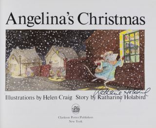 Angelina's Christmas [SIGNED BY THE AUTHOR]
