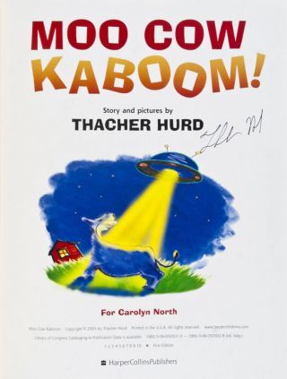 Moo Cow Kaboom! [SIGNED BY HURD]