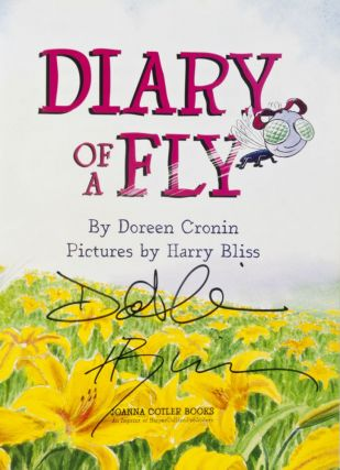 Diary of a Fly [SIGNED BY AUTHOR & ILLUSTRATOR]
