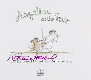 Angelina at the Fair [SIGNED BY AUTHOR]