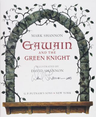 Gawain and the Green Knight [SIGNED BY ILLUSTRATOR]