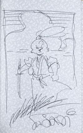 Usagi Yojimbo, Daisho, Book 9 [SIGNED WITH SKETCH BY ARTIST]. Stan Sakai
