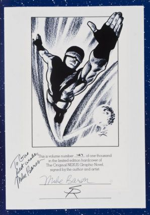 The Original Nexus [INSCRIBED, SIGNED BY AUTHOR AND ILLUSTRATOR]
