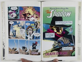 The Private Files of the Shadow [SIGNED, WITH ORIGINAL DRAWING BY ILLUSTRATOR]