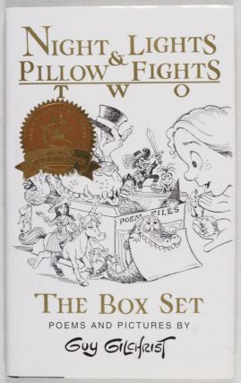 Night Lights & Pillow Fights II: The Box Set. Poems and Pictures by Guy Gilchrist [INSCRIBED, SIGNED, WITH ORIGINAL DRAWING BY AUTHOR]. Guy Gilchrist.