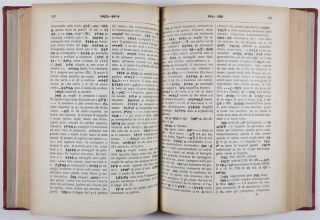 Vocabolario Amarico-Italiano [FROM THE PERSONAL LIBRARY OF WOLF LESLAU]