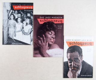 Schlagzeug: Das Jazz Magazin. Jazz in Wort und Bild (14 Issues, July 1958 - January 1960). n/a