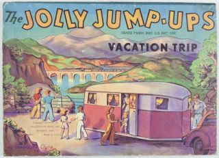 The Jolly Jump-Ups Vacation Trip. Geraldine Clyne.