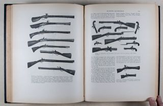 A Glossary of the Construction, Decoration and Use of Arms and Armor in All Countries and in All Times Together With Some Closely Related Subjects [IN RARE PUBLISHER'S DELUXE BINDING]
