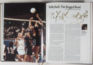 Games of the XXIIIrd Olympiad Los Angeles 1984 Commemorative Book - (Autographed) Gold Edition [SIGNED BY 33 ATHLETES]