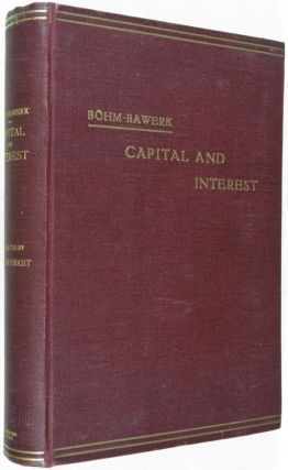 Capital and Interest: A Critical History of Economical History