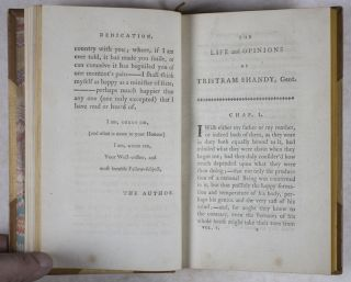 The Works of Laurence Sterne. In Ten Volumes Complete. Containing, I. The Life and Opinions of Tristram Shandy, Gent. II. A Sentimental Journey Through France and Italy. III. Sermons. IV. Letters. With a Life of the Author, Written by Himself