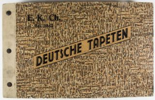 Art Déco - Deutsche Tapeten (Art Déco German Wallpaper Sample Catalogue). n/a.
