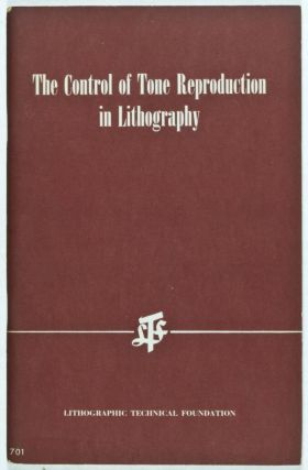 The Control of Tone Reproduction in Lithography. Michael H. Bruno, George W. Jorgensen