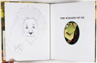 Lot of 23 signed books Illustrated by Michael Hague, many with original drawings by the artist