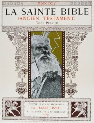 La Sainte Bible: Ancien Testament. 2-vol. set (Complete). J.-James Tissot