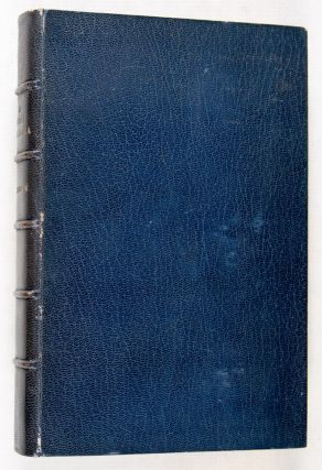 A Moral Dilemma [Inscribed and signed by the author to Alexander Pollock Watt*]