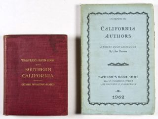 Traveler's Handbook to Southern California [From the Library of Catherine Mulholland] + Catalogue 330 of California Authors (1962), by Glen Dawson