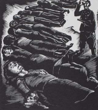 Beyond Words. A Holocaust History in Sixteen Woodcuts Done in 1945 by Miklos Adler, a Hungarian Survivor. Miklos Adler, Saul Touster.