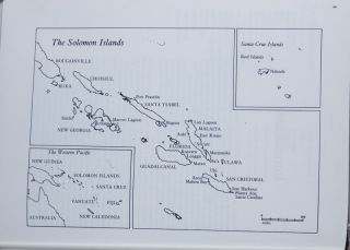 Artefacts from the Solomon Islands