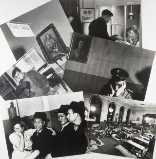 Collection of 62 original silver-gelatin photographs [INCLUDING 4 SELF-PORTRAITS AND 22 REPRODUCED IN ABECEDA DUSEVNIHO PRAZDNA]