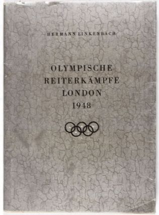 Olympische Reiterkämpfe London 1948. Hermann Linkenbach