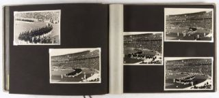 Unique photo album of the Berlin Olympic Games of 1936