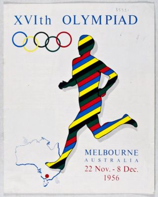 XVIth Olympiad: Melbourne, Australia, 22 Nov.- 8 Dec. 1956. n/a
